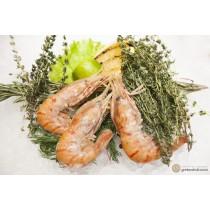 Креветка гребенчатая Ботан вареноморожена, 1 кг